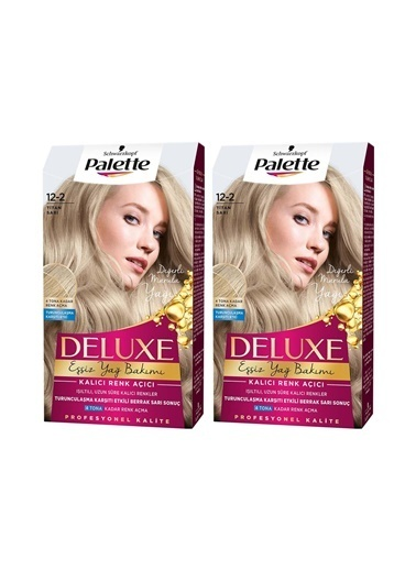 Palette Palette Deluxe 12-2 Titan Sarıx 2 Paket Renkli